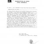 P5 - Transcription de décès