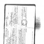 P7 - Extrait de l'acte de mariage d'Eliane Kabine